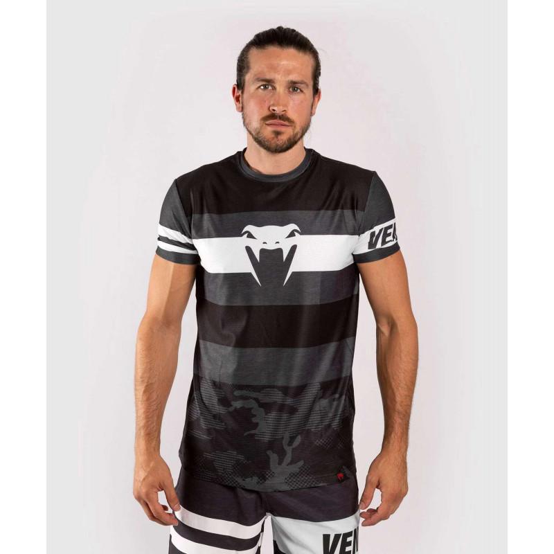 Футболка Venum Bandit Dry Tech чорна/сіра (01965) фото 1