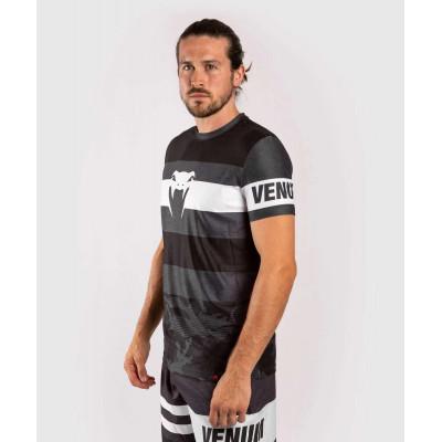 Футболка Venum Bandit Dry Tech чорна/сіра (01965) фото 3