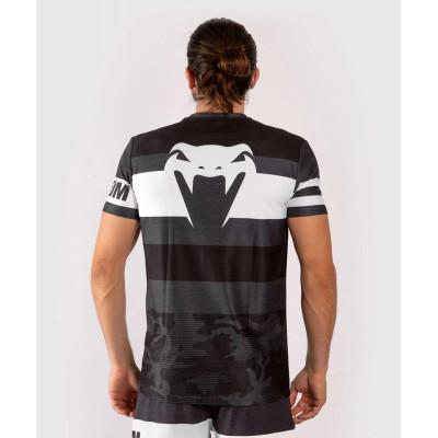 Футболка Venum Bandit Dry Tech чорна/сіра (01965) фото 2
