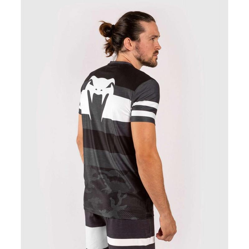 Футболка Venum Bandit Dry Tech чорна/сіра (01965) фото 5