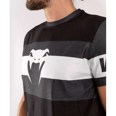 Футболка Venum Bandit Dry Tech чорна/сіра (01965) фото 6