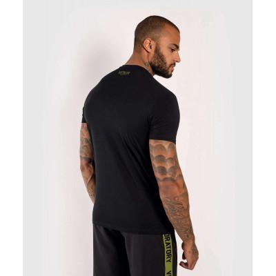 Футболка Venum Boxing Lab Tshirt Black/Green (02029) фото 4