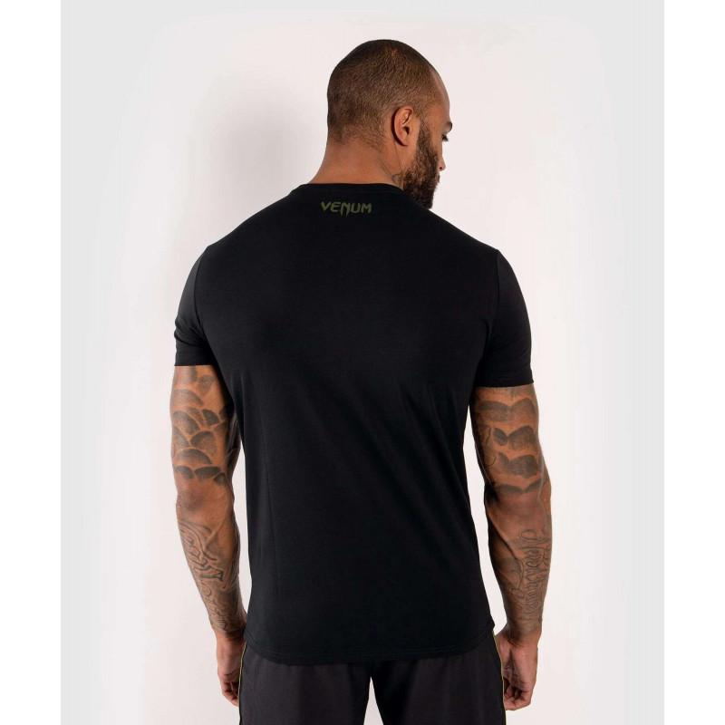 Футболка Venum Boxing Lab Tshirt Black/Green (02029) фото 2