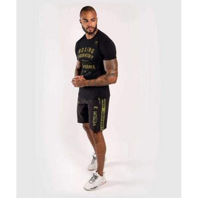 Футболка Venum Boxing Lab Tshirt Black/Green (02029) фото 7