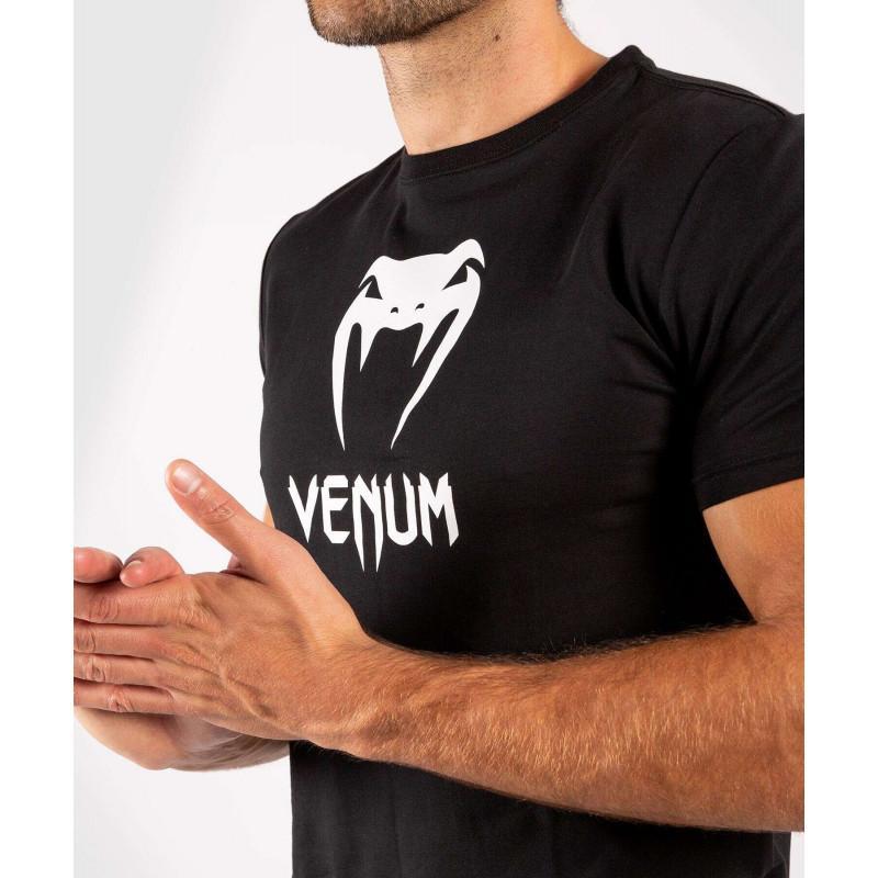 Футболка Venum Classic Tshirt Black (02133) фото 4