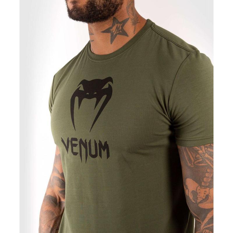 Футболка Venum Classic Tshirt Khaki (02137) фото 4