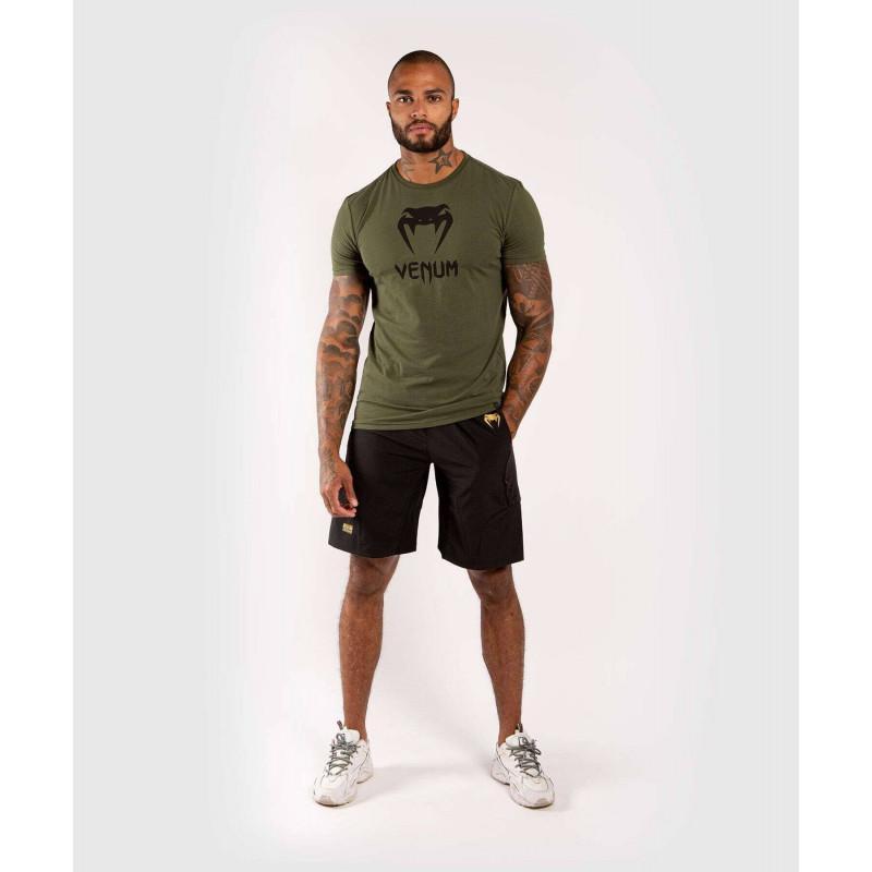 Футболка Venum Classic Tshirt Khaki (02137) фото 5