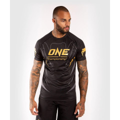 Футболка Venum ONE FC Dry Tech Black/Gold