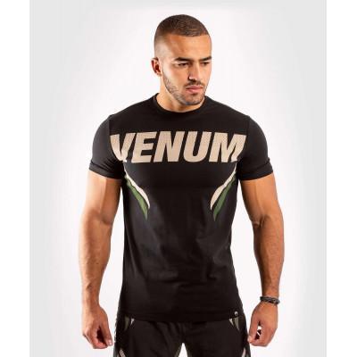 Футболка Venum ONE FC Impact Black/Khaki (02036) фото 1