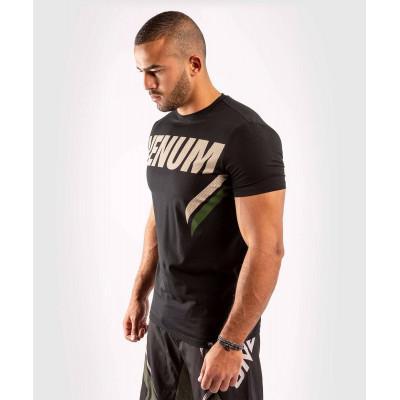 Футболка Venum ONE FC Impact Black/Khaki (02036) фото 3