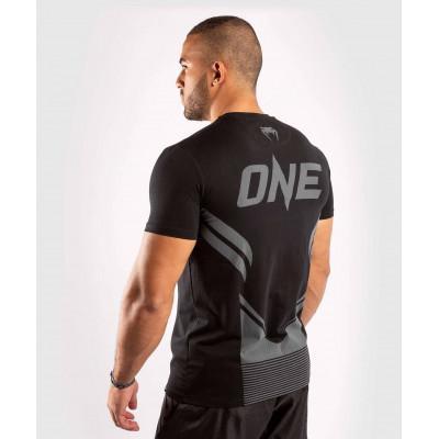 Футболка Venum ONE FC Impact T-shirt B/B (02028) фото 4