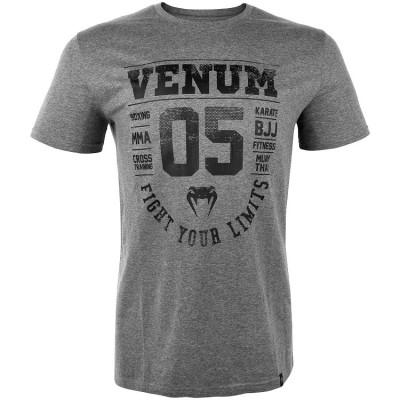 Футболка Venum Origins T-Shirt Heather Grey (01488)