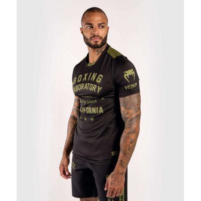 Футболка Venum Boxing Lab Dry Tech Black/Green (02052) фото 3