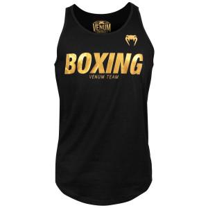Майка Venum Boxing VT Черный/Золотой