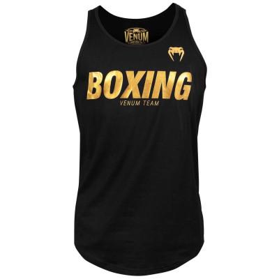 Майка Venum Boxing VT Черный/Золотой (01823)