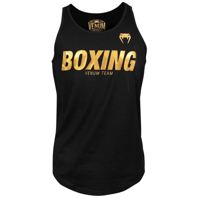 Майка Venum Boxing VT Чорний/Золотий (01823) фото 1