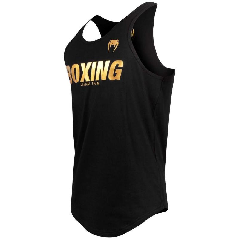 Майка Venum Boxing VT Чорний/Золотий (01823) фото 3