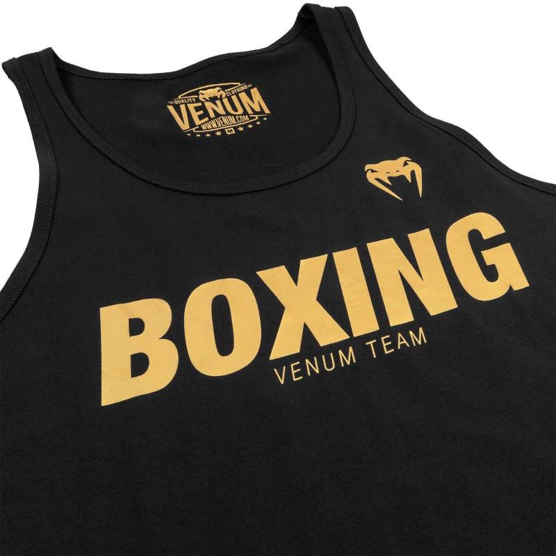 Майка Venum Boxing VT Чорний/Золотий (01823) фото 4