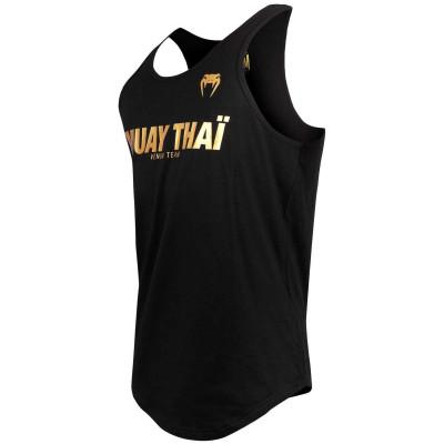 Майка Venum Muay Thai VT Чорний/Золотий (01822) фото 3