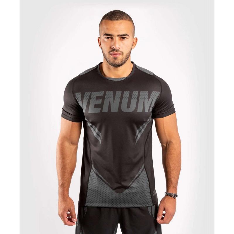 Футболка Venum ONE FC Impact Dry Tech Black/Black (02041) фото 1