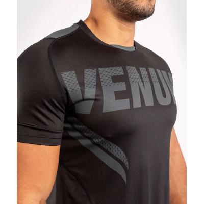 Футболка Venum ONE FC Impact Dry Tech Black/Black (02041) фото 5