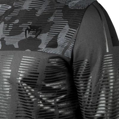 Футболка Venum Tactical с Длинным Рукавом Черная/Камуфляж (01834) фото 4
