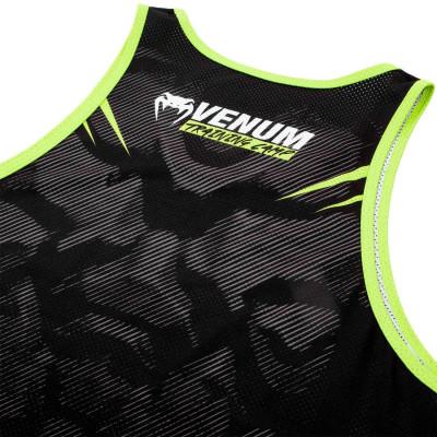Майка Venum Training Camp 2.0 Чорна/Нео Жовтий (01828) фото 5