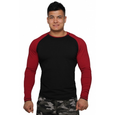 Реглан Long Sleeve BERSERK black/bord (01261)