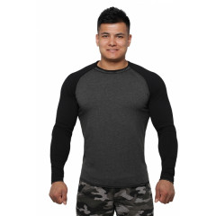 Реглан Long Sleeve BERSERK dark grey/black