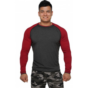 Реглан Long Sleeve BERSERK dark grey/bord