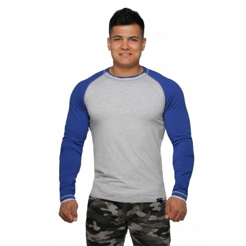 Реглан Long Sleeve BERSERK grey/blue (01265) фото 1