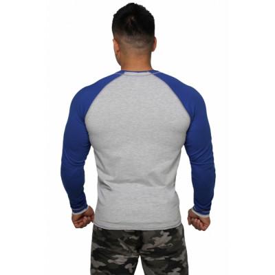 Реглан Long Sleeve BERSERK grey/blue (01265) фото 2