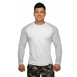 Реглан Long Sleeve BERSERK white/grey