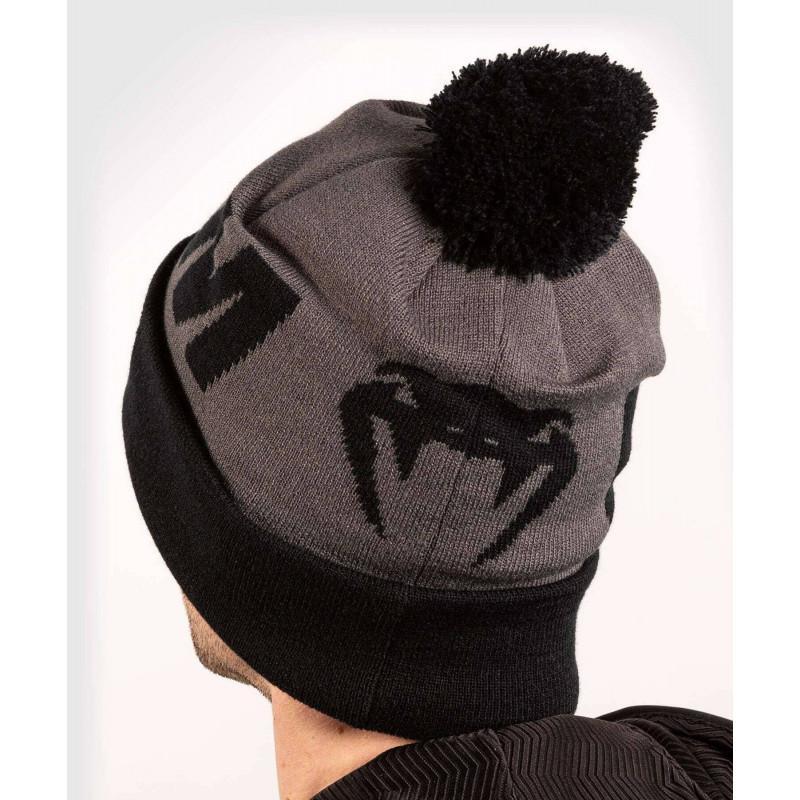 Шапка Venum Elite Beanie with pompom Grey/Black (02066) фото 2