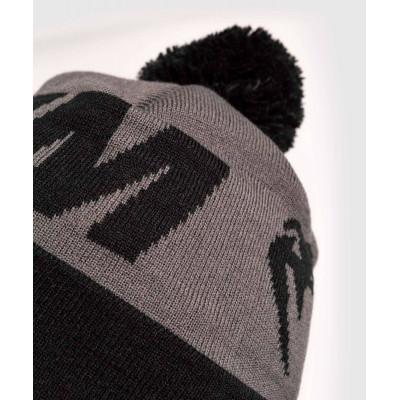 Шапка Venum Elite Beanie with pompom Grey/Black (02066) фото 5