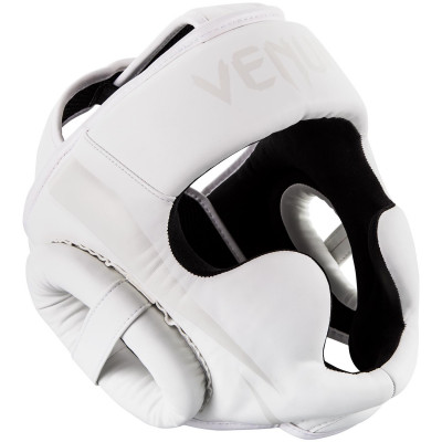 Шлем Venum Elite Headgear White/White Taille (01709) фото 1