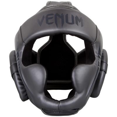 Шолом Venum Elite Headgear Grey/Grey (01364) фото 6
