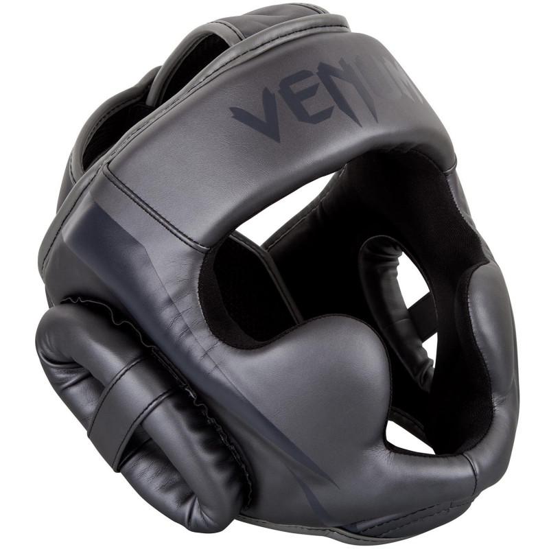Шолом Venum Elite Headgear Grey/Grey (01364) фото 1