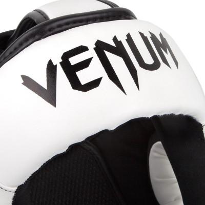 Шлем Venum Elite Headgear White/Black Taille (01708) фото 5