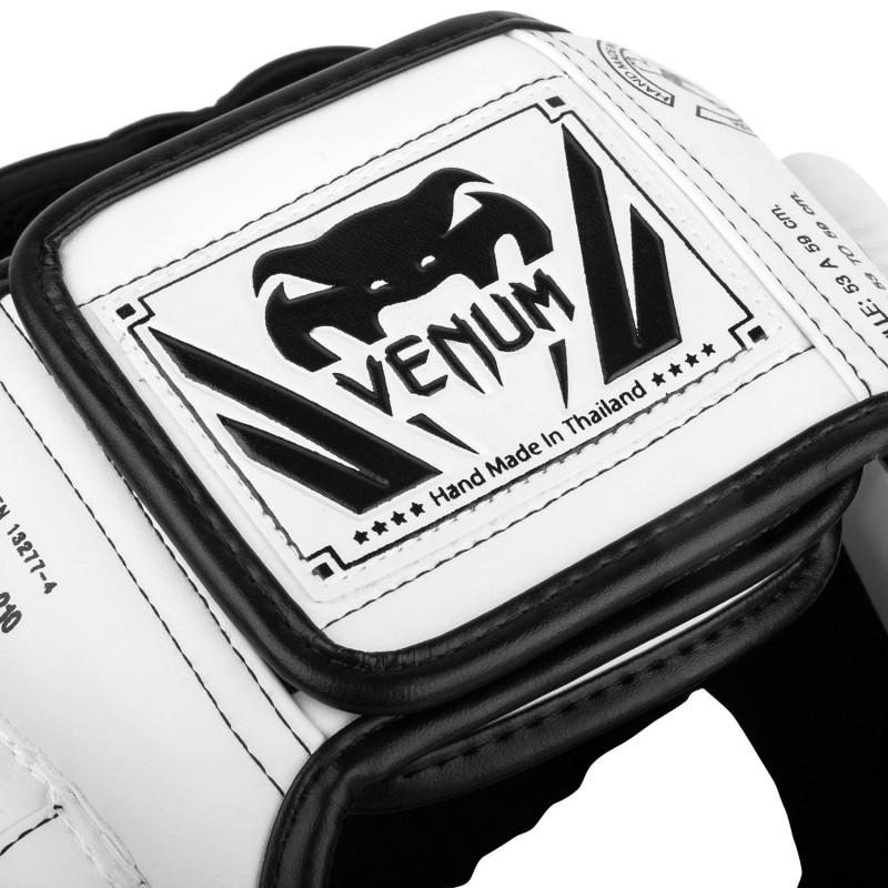 Шлем Venum Elite Headgear White/Black Taille (01708) фото 3