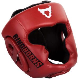 Боксерский Шлем Ringhorns Charger Headgear Красный