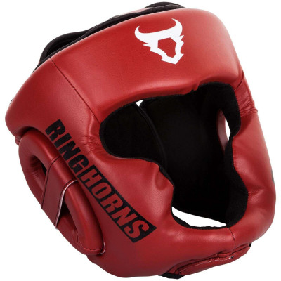 Боксерский Шлем Ringhorns Charger Headgear Красный (01876)