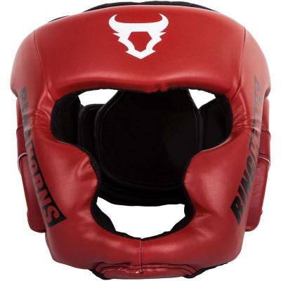Боксерский Шлем Ringhorns Charger Headgear Красный (01876) фото 3