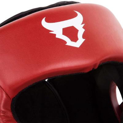Боксерский Шлем Ringhorns Charger Headgear Красный (01876) фото 4