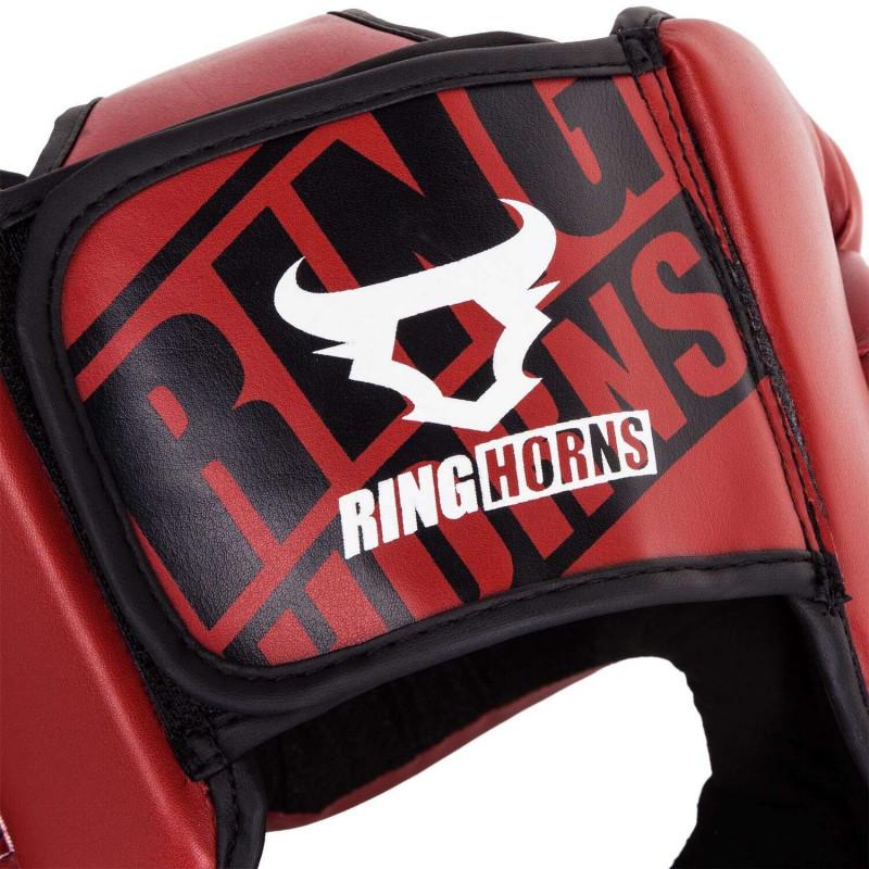 Боксерский Шлем Ringhorns Charger Headgear Красный (01876) фото 5