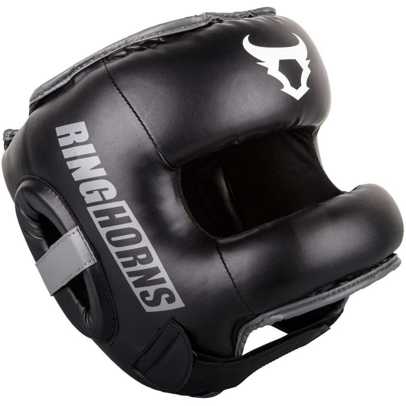 Шлем боксёрский Ringhorns Nitro Headgear Черный  (01873) фото 1