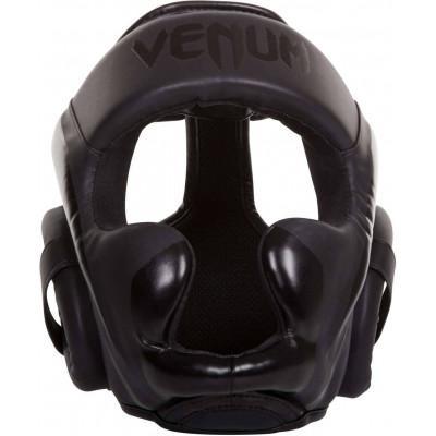Шолом для единоборств Venum Elite Headgear Black (02161) фото 3