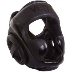 Шолом для единоборств Venum Elite Headgear Black