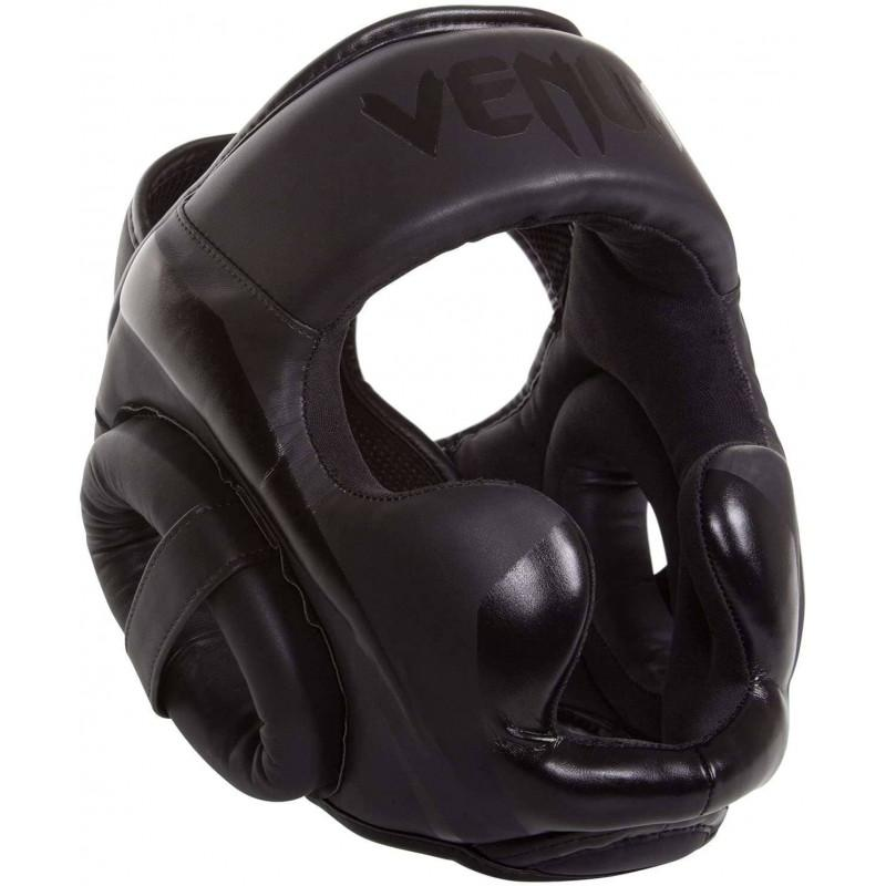 Шолом для единоборств Venum Elite Headgear Black (02161) фото 1