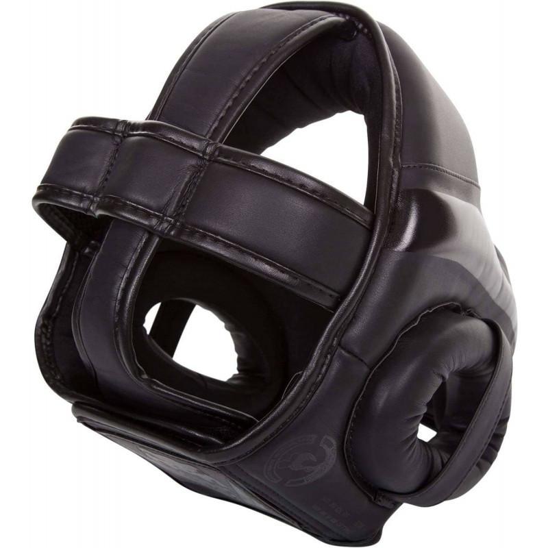 Шолом для единоборств Venum Elite Headgear Black (02161) фото 2